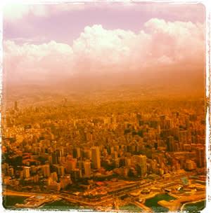 Instagram image of Beirut by Richard Branson
