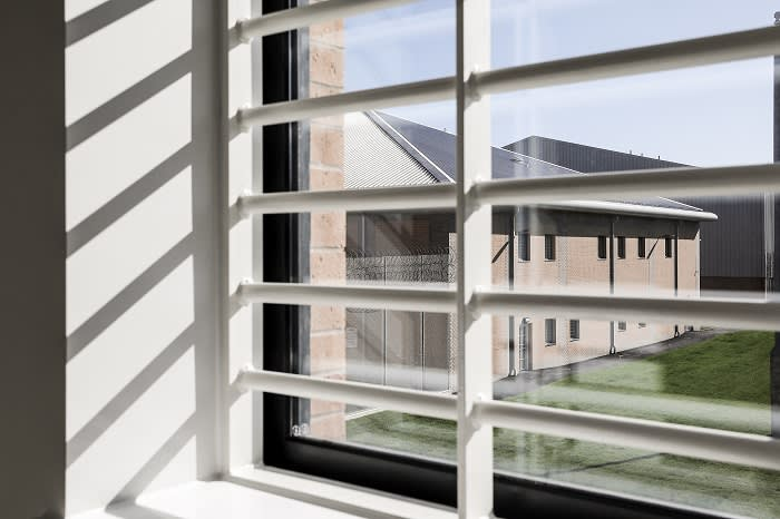 A view from one of HMP Berwyn's rooms. Plans for big new prisons continue, but the MoJ says lessons learned from Berwyn will shape their future approach and design