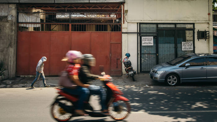 The gate of the said address of Maxcone in Las Piñas, Metro Manila.