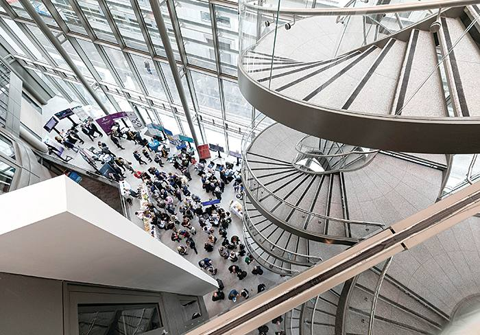 €80 million building for the Trinity Business School at Trinity College Dublin, opened by Taoiseach, Leo Varadkar. Pic:- Chris Bellew-Fennell Photography