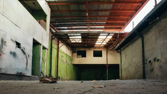 A peek inside the locked abandoned shack where Maxcone address was enlisted.Metro Manila 12-13