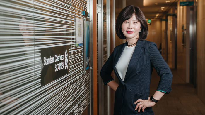 DJ Kim says the support of her female boss was key to completing the EMBA