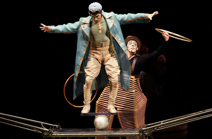 epa08284908 Artists perform during a media call for Cirque du Soleil?s production Kurios at Flemington Racecourse in Melbourne, Australia, 11 March 2020. EPA-EFE/DAVID CROSLING AUSTRALIA AND NEW ZEALAND OUT