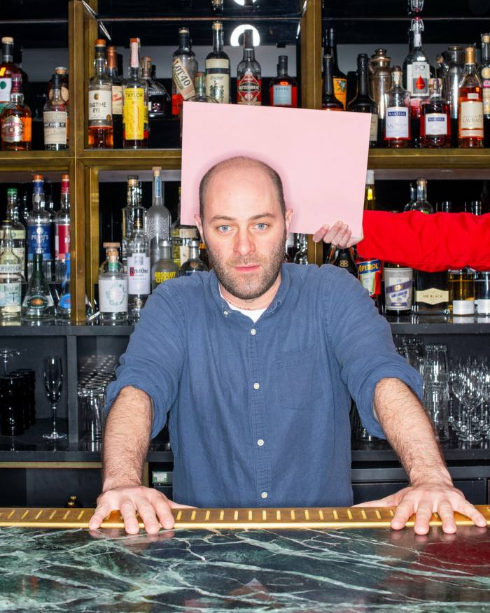 Hawksmoor's Liam Davy aimed to evoke his youthful adventures in after-hours London with his cocktail