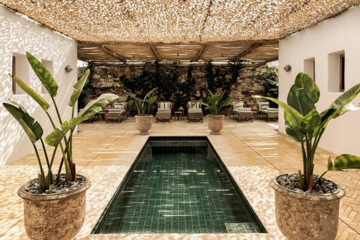 The Spa at The Rooster Antiparos