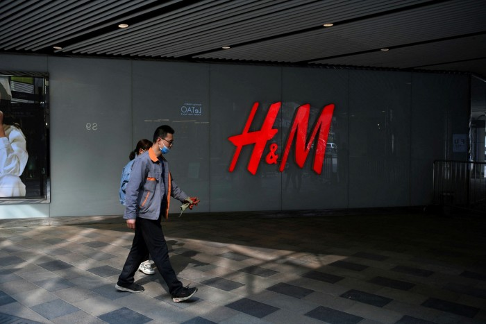 Reputational damage: fashion retailer H&M has been drawn into the battle between China and western NGOs