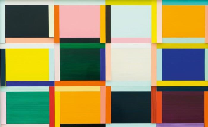 Basel Fenster 3 Ed. (Entwurf Nr 7 von 12), 2020, by Imi Knoebel