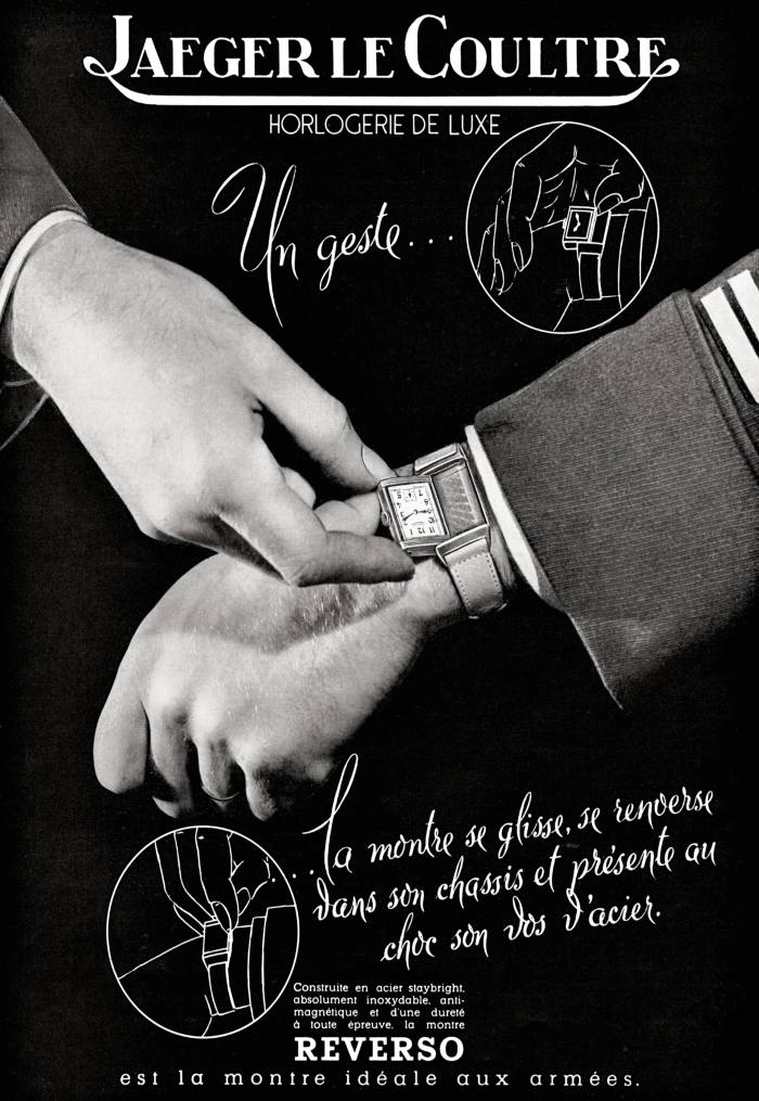 A Reverso advertisement from 1940