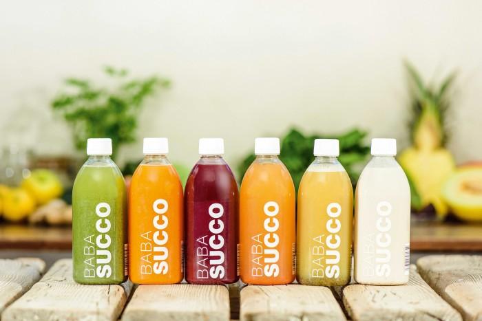 Babasucco detox juices, €60 for six