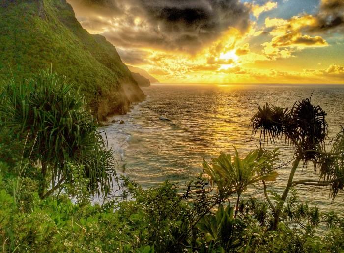 The north shore of Kauai, Hawaii