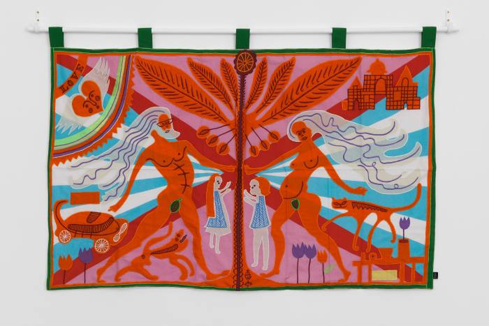 Marriage Flag by Grayson Perry