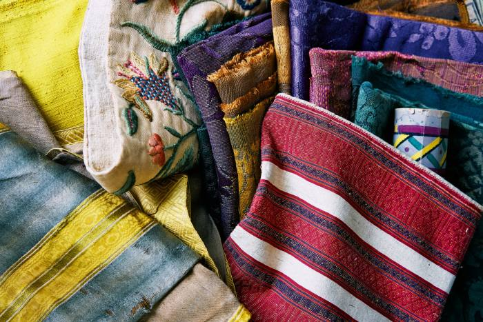 Soames's collection of antique textiles