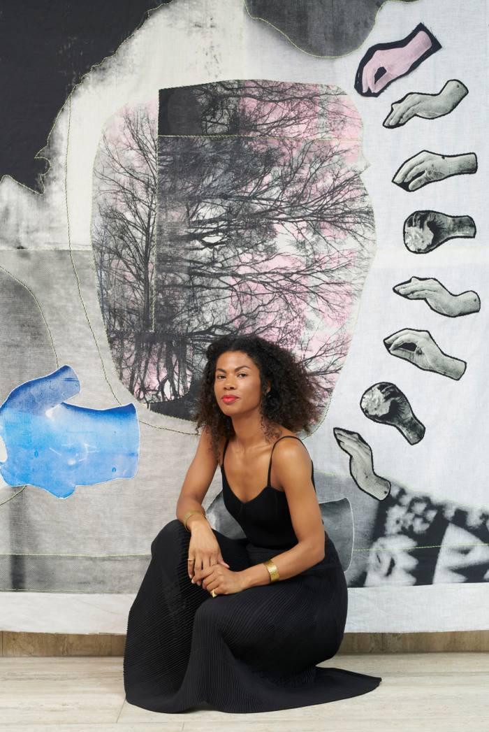 German-Ghanaian textile artist Zohra Opoku