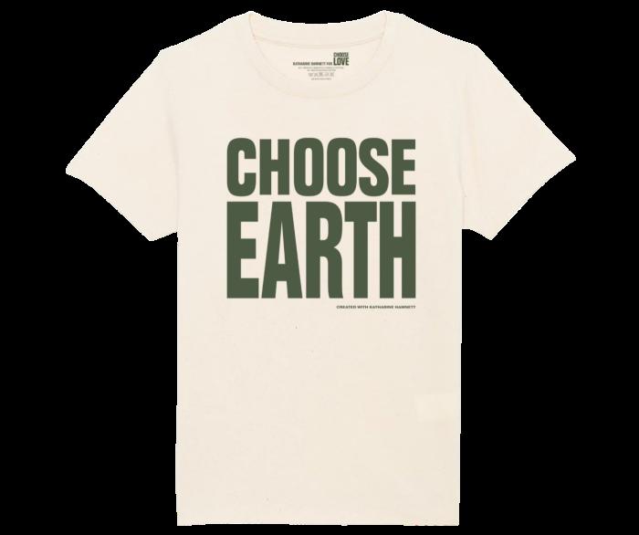 Choose Earth x Earthrise T-shirt, £25