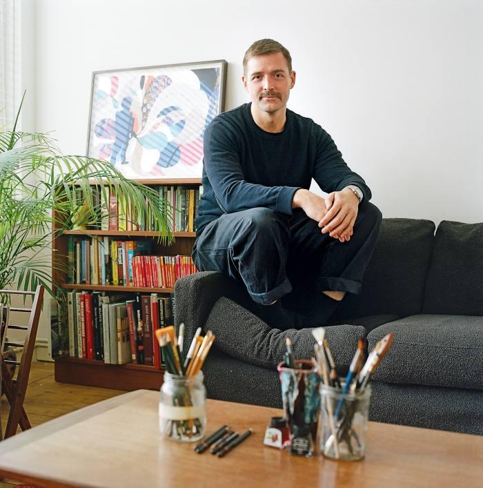 Patrick Grant at home in London