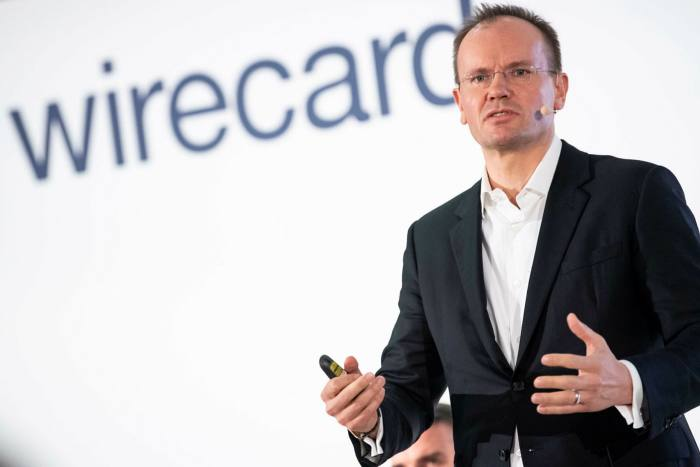 Wirecard's chief Markus Braun: 'It is currently unclear whether fraudulent transactions to the detriment of Wirecard have occurred'