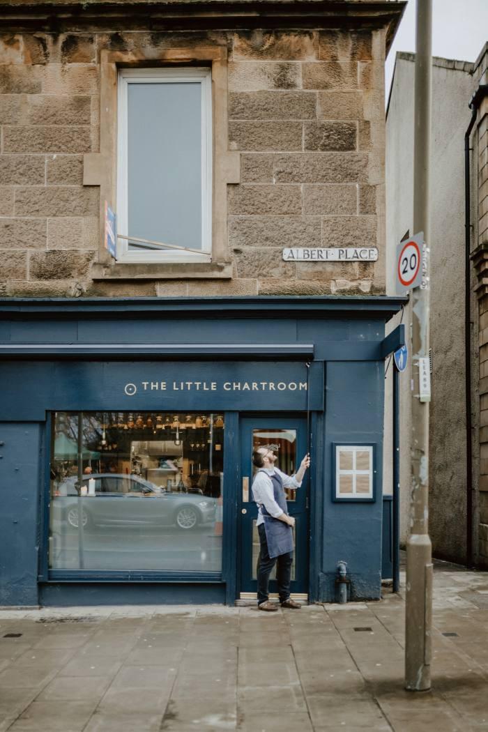 The original 18-cover Little Chartroom restaurant
