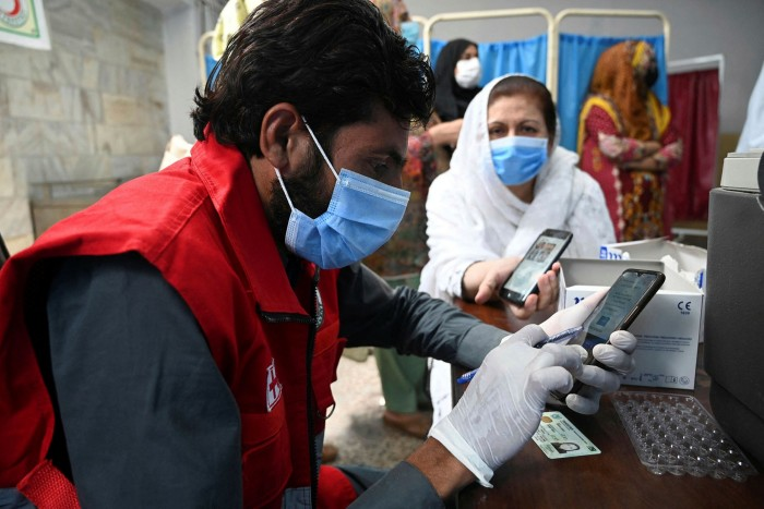 Technology has enabled the collection of data to track the disease and identify treatments
