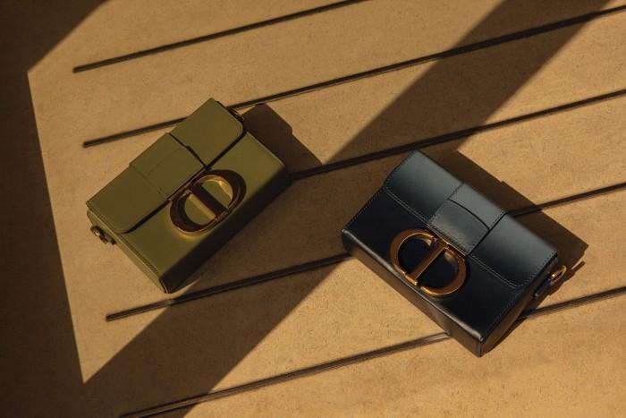 Dior leather30 Montaigne bag, £2,500 each