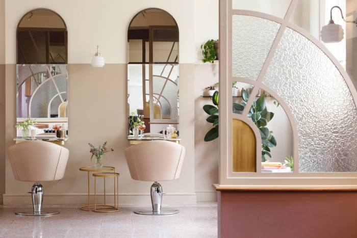 The former gatehouse has been transformed into a beauty lodge with nail bar, hair salon and treatment rooms