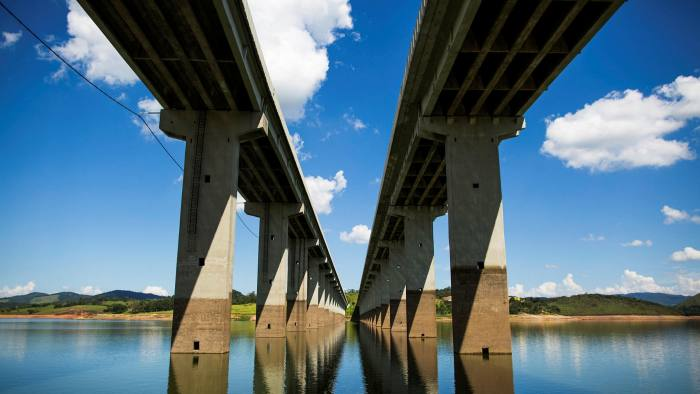 Fluid situation: a Cantareira reservoir runs low during the 2015 drought