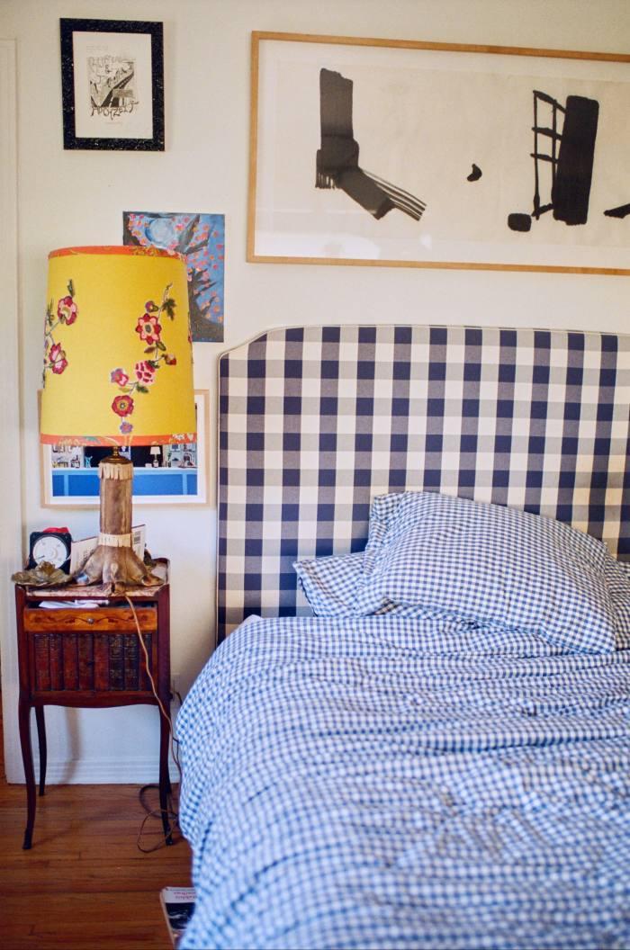Wainwright's bedroom