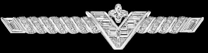 Louis Vuitton diamond Les  Honneurs brooch, POA