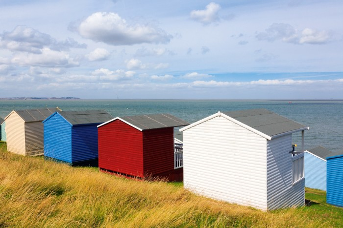 The seafront at Whitstable, Kent