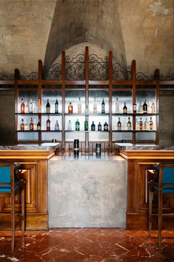 The bar at Villa Igiea