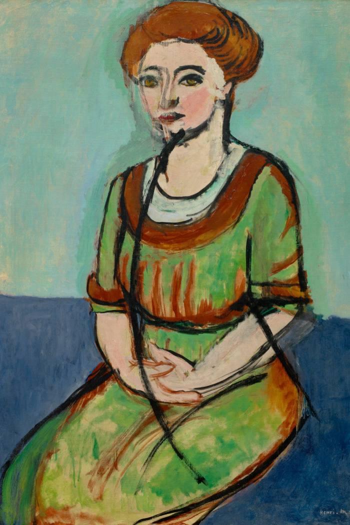 Olga Merson, 1911, by Henri Matisse, at theMFAH