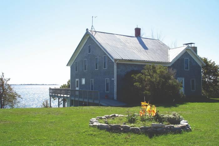 Galloo Island in Lake Ontario, New York state