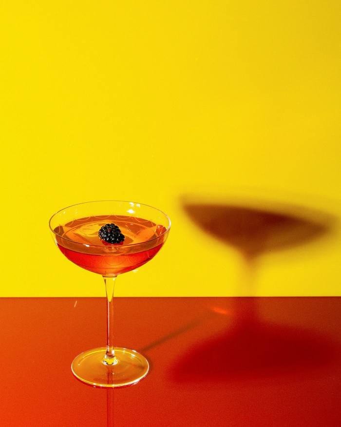 All abuzz: the Bumblebee takes the classic Bramble cocktail to a new level