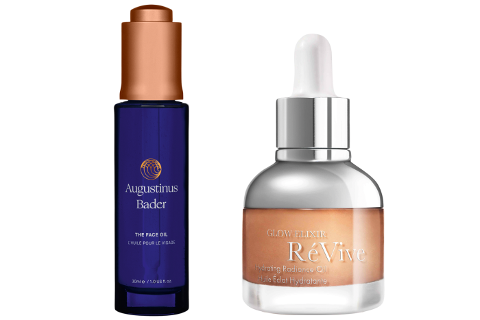 Augustinus Bader The Face Oil, £180 for 30ml. RéVive Glow Elixir Hydrating Radiance Oil, £100 for 30ml