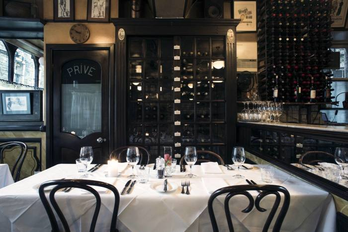 Cafe St Honoré offers a daily-changing menu from chef Neil Forbes