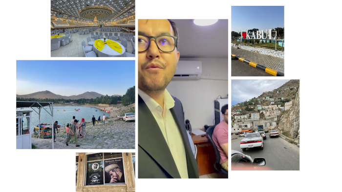 Photographs from Jon Boone's time in Kabul in early August 2021 chart a journey that took in the Tolo News station, TV Hill and the Qargha reservoir