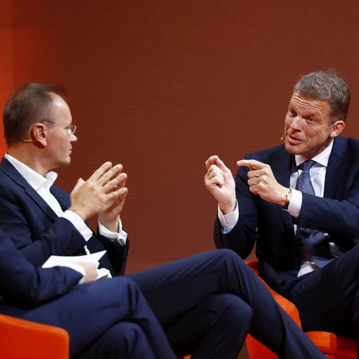 Markus Braun hoped a takeover of Deutsche Bank, headed by Christian Sewing, would help conceal Wirecard's €1.9bn fraud