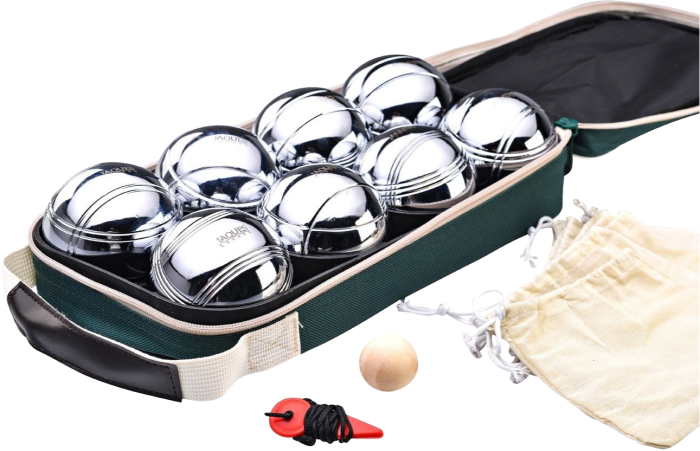 Jaques of London set of eight boules, £35