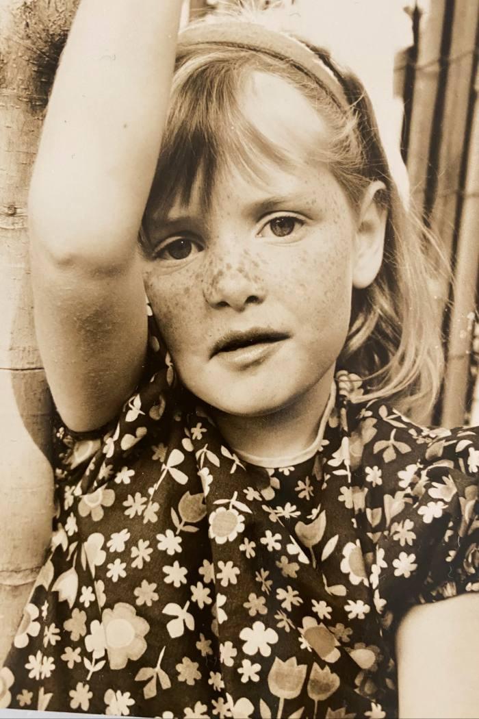 Gyngell as a child in Australia in 1967
