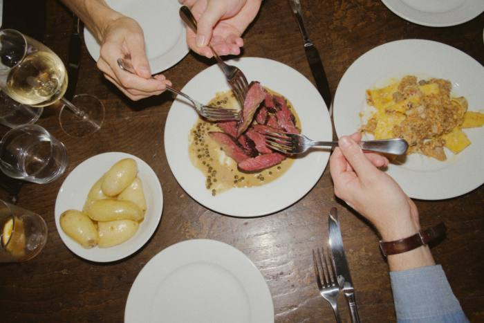 """""""Simple and unfussy dishes"""" at Café Cecilia in Hackney"""