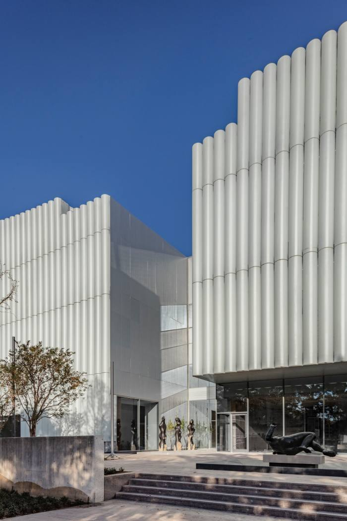 The Nancyand Rich Kinder Building atthe Museum ofFine Arts