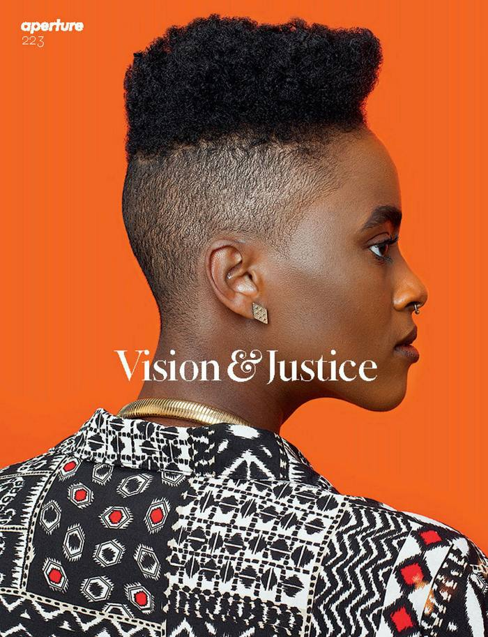 Awol Erizku, Untitled (Forces of Nature #1), (2014) on the cover of Aperture's magazine 2016 issue Vision & Justice