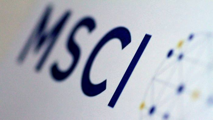 The MSCI logo