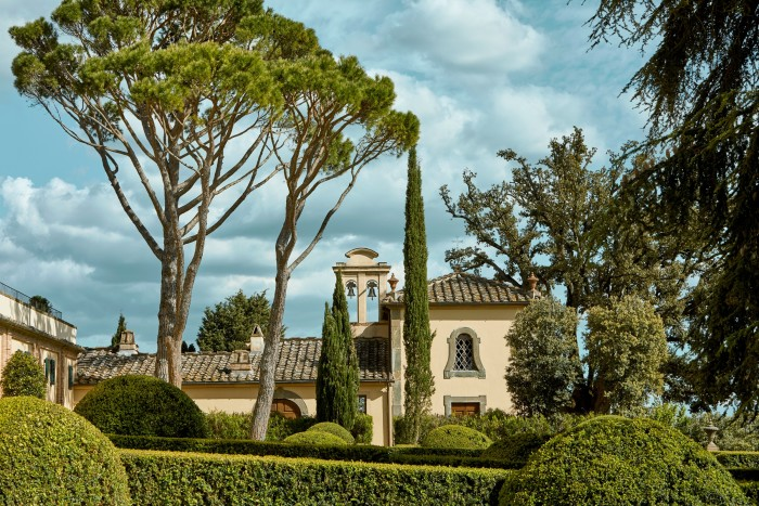 Castello del Nero sits in the Tuscan countryside 20 minutes south of Florence
