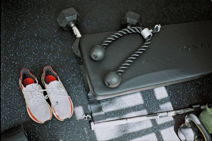 The Tonal home gym