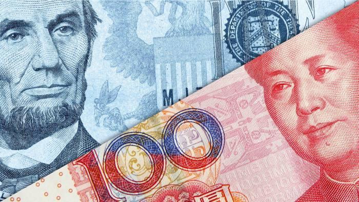 Renminbi and dollar bills