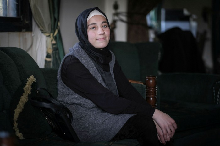 Zeinab al Awad: 'My intention is to continue and become a doctor...and go back to rebuild my country as it was'