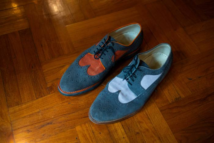 Bensley's bespoke Schuhwerk shoes