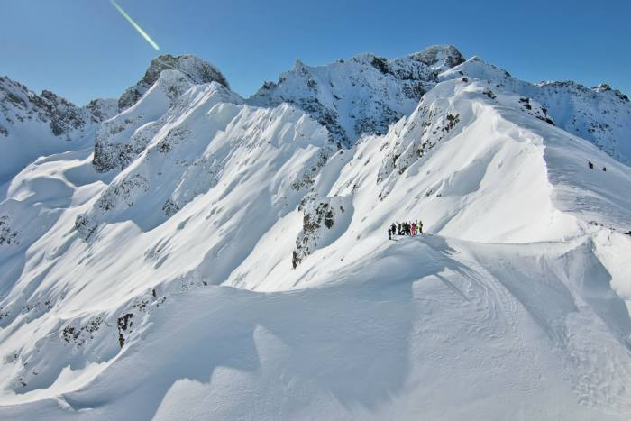 """Pristine snow: """"Thefantasy of an eastern Shangri-La for skiers mightjustbe real"""""""