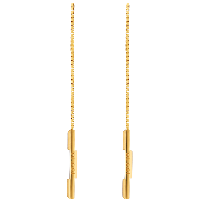 Gucci gold Link ToLove earrings, £970