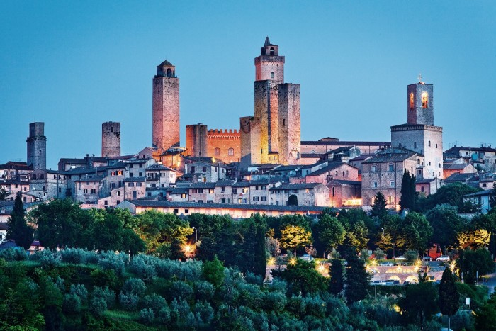 The medieval towers of San Gimignano in Tuscany